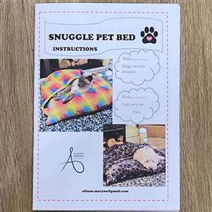 Allison Maryon's Pet Snuggle Bed Instructions