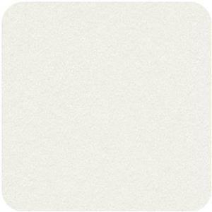 """Felt Square in White 22.8x22.8cm (9x9"""")"""