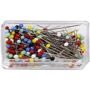 Assorted Coloured Pins (31mm): Pack of 200