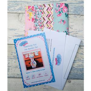 Living in Lovliness Fabuously Fast Fat Quarter Fun - Issue 7 - Riley Blake