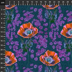 Anna Maria Horner Bright Eyes in Bossy Mini Evening Fabric 0.5m