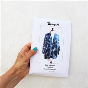 Sewgirl Suki Kimono Sewing Pattern - Sizes 8-28