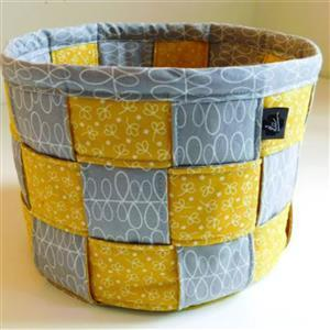Love from Beth A Lovely Woven Basket Sewing Pattern