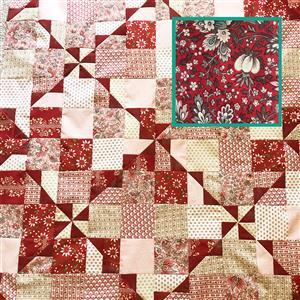 Moda Floral French General French Wrap Quilt Kit 122 x 153cm