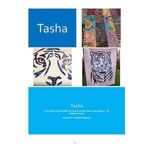 Delphine Brooks' Tasha Tiger Applique Wall Hanging Instructions