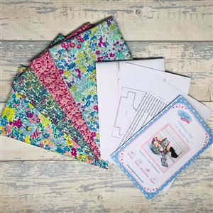 Living in Loveliness - Fabulously Fast Fat Quarter Fun Liberty Option 2. Issue 4