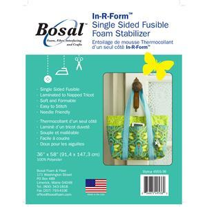 Bosal In R Form Single-Sided Fusible White 150cm wide (0.5m)