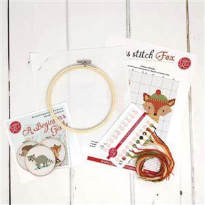 The Crafty Kit Company Fox Cross Stitch Kit