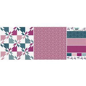Quick Make Brights Hunters Star Cushion Fabric Panel (140 x 56cm)