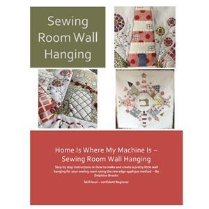 Delphine Brooks' Sewing Street Wall Hanging Instructions