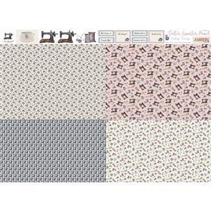 Amber Makes Vintage Sewing 4x Fatter Quarter Panel (140 x 113cm)
