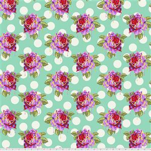 Tula Pink Curiouser And Curiouser in Painted Roses Wonder Fabric 0.5m