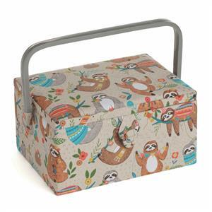 Hobby Gift Large Sloth Design Sewing Box