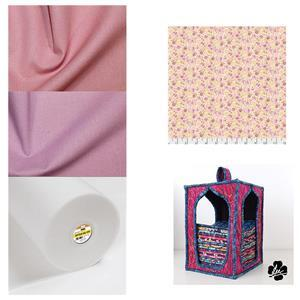 Dena Designs Canberra Rose Fat Quarter Storage Kit: Pattern, Style-Vil & Fabric (1.5m)