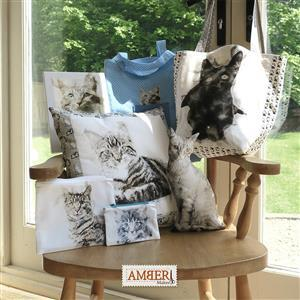 Amber Makes A Clowder of Cats Kit: Instructions & Fabric Panel (140 x 75cm)