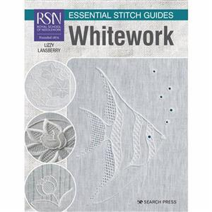 RSN Essential Stitch Guides, Whitework Book