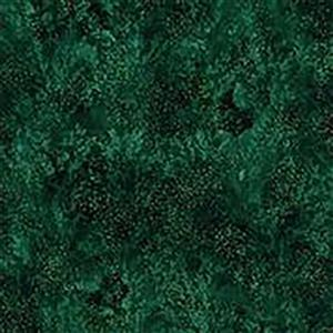 Hoffman Autumn Is In The Air Emerald Gold Fabric 0.5m