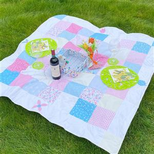 Allison Maryon's Spring Quilt Kit: Instructions & Panel (140 x 202cm)