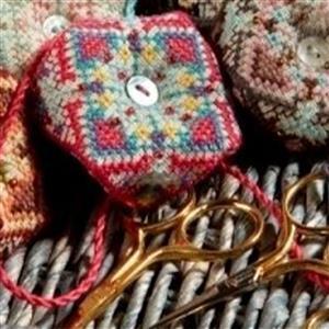 Cross Stitch Guild Indian Twist - Silk Sari Kit