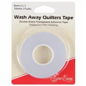 Sew Easy Wash Away Quilters Tape 10m x 8mm