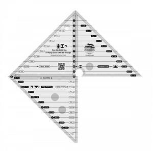 Creative Grids® 15.2cm Flying Geese, 45° 90° Triangle Ruler