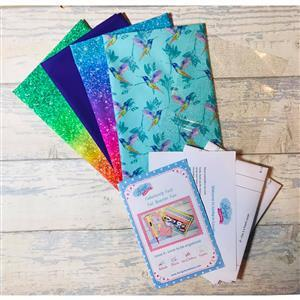 Living in Loveliness Fabulously Fast Fat Quarter Fun Issue 6 Humming Bird