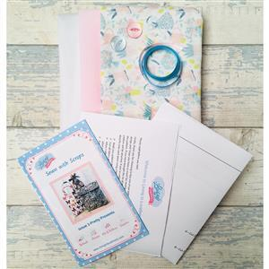 Living in Loveliness Sewn with Scraps Issue 1: Pretty Presents, Garden