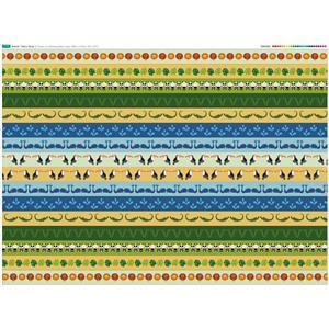 Animal Strips Fabric Panel (140 x 109cm)