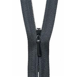 Concealed Zip in Black 56cm