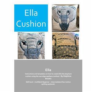 Delphine Brooks' Applique Elephant Cushion Instructions