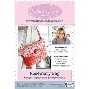 The Rosemary Bag by Debbie Shore Pattern, Instructions
