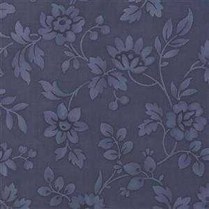 Moda Daybreak Morning Glory Evening on Navy Fabric 0.5m