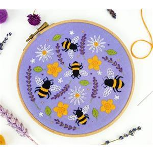 Oh Sew Bootiful Bees & Lavender Embroidery Kit