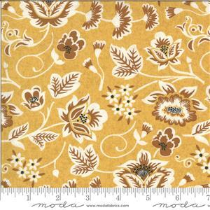 Moda Cider Floral Yellow Fabric 0.5m