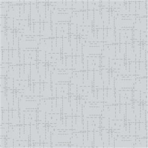 Stitched Effect Grey Fabric 0.5m