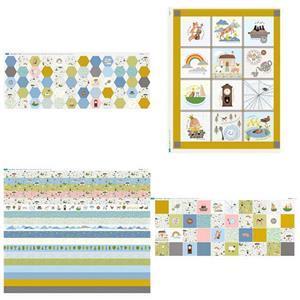 Nursery Rhyme Fabric Panel Mega Bundle. Save £29.97