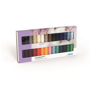 Mettler Silk Finish Cotton Thread Set Asst Pack of 28