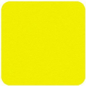"""Felt Square in Super Bright Yellow 22.8x22.8cm (9x9"""")"""