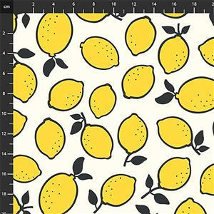 Squeeze Lemons Fabric 0.5m
