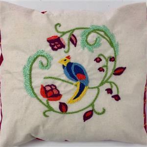 Katharine Wrights Tropical Bird Hand Stitch Design