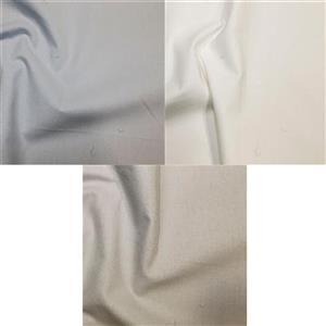 Early Bird Special - Baby Boy Plain Cotton Fabric Bundle (1.5m). Save £2