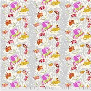 Tula Pink Curiouser and Curiouser in 6pm Somewhere Wonder Fabric 0.5m