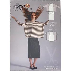Sew Different Layer Dress Pattern - Sizes 8-26