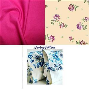 Helen Newton's Victoria's Garden Duo Tied Cushion Kit: Instructions & Fabric (1.5m)