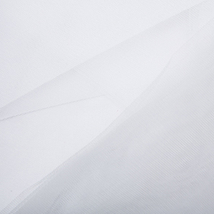 White Tulle/Bridal Veiling Fabric 0.5m