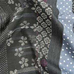 Shima Grey Fabric 0.5m
