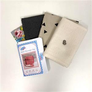 Living in Loveliness - Wool Alexie Messenger Bag Kit