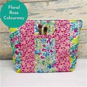 Living in Loveliness Yasmeen Cosmetic Bag - Floral Rose