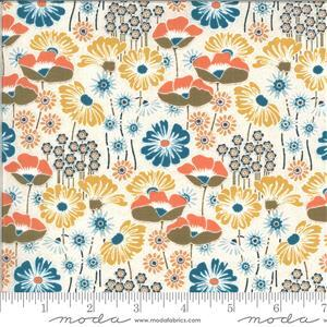 Moda Cider White Floral Multi Fabric 0.5m