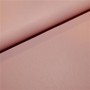 30% Viscose 40% PU Leather 30% Polyester Fabric Pink 0.5m